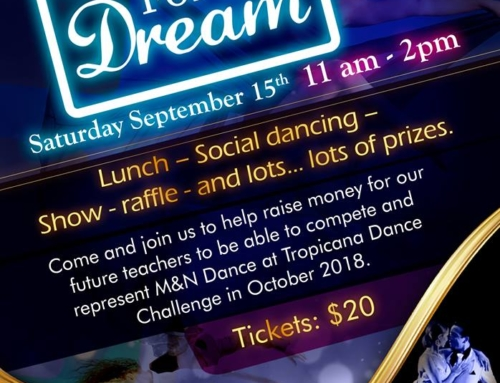 BARBECUE FOR A DREAM – SEPTEMBER 15th AT M&N DANCE