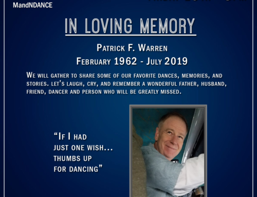 """Milonga de mis amores"" in loving memory of Patrick Warren. July 19th, 8.00 pm"