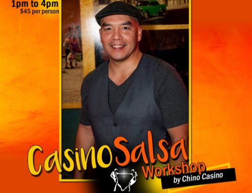 November 2nd: CASINO-SALSA WORKSHOP by CHINO CASINO.