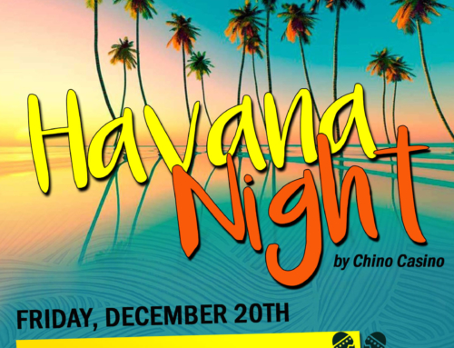 HAVANA NIGHT by Chino Casino. December 20th – 7.00 pm