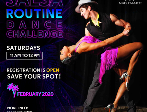 JANUARY 30th – 7.30pm – Practice Party – SAMBA Challenge presentation – SALSA Challenge demostration!