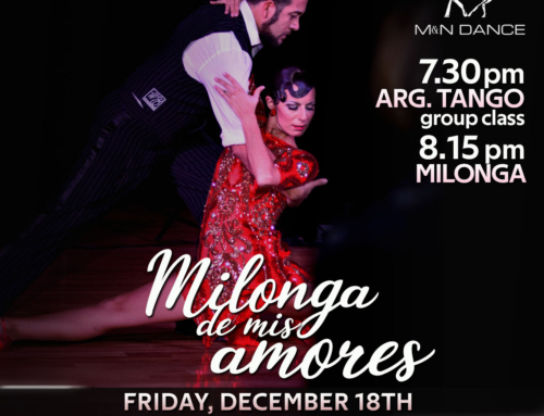 Last Milonga of the year!